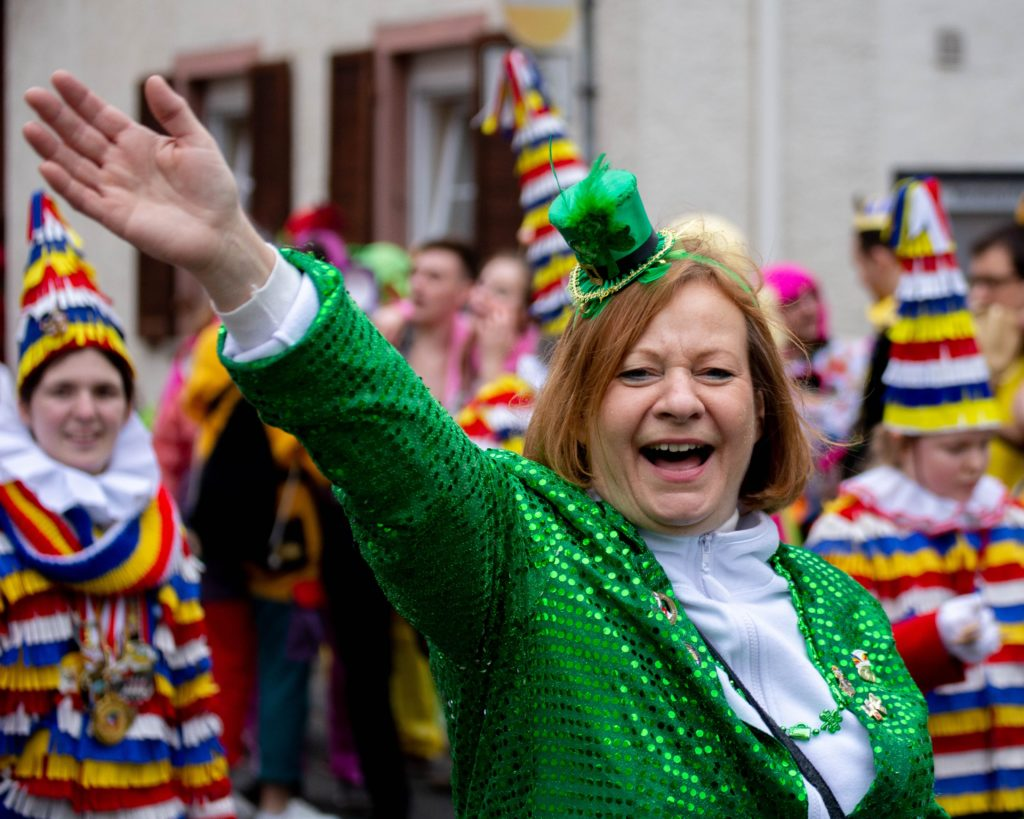 parade-saint-patrick-costume-vert