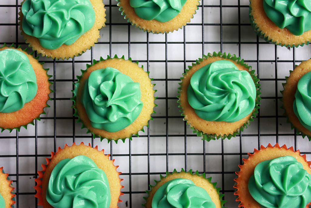 cupcakes-verts-saint-patrick